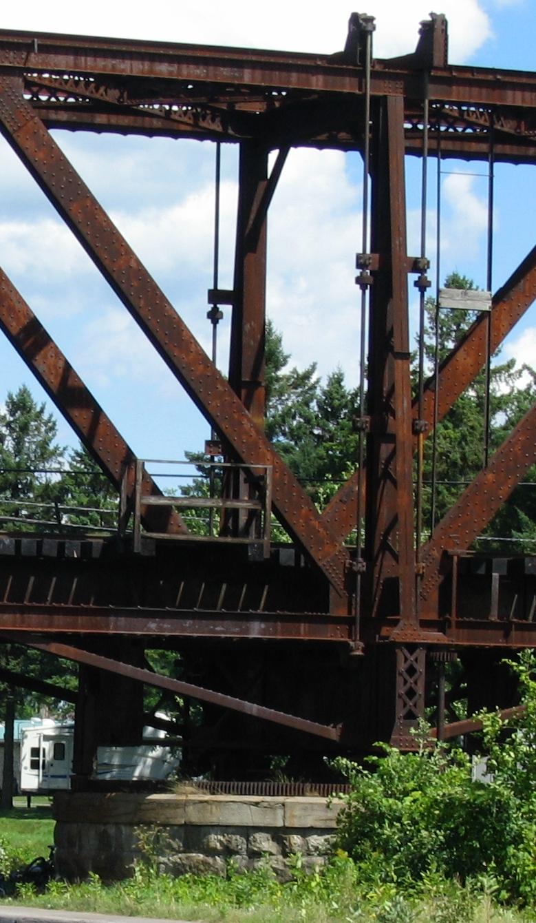 Engrenage du pont tournant